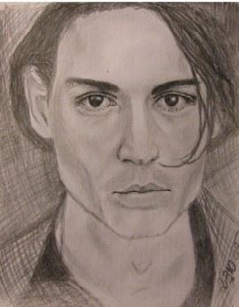 Johnny Depp by ElenaVA
